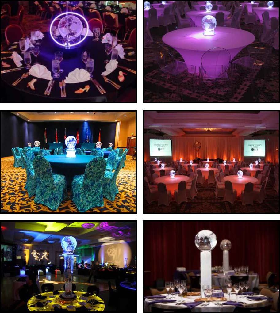 Acrylic Products For Absolutely Fabulous Events And