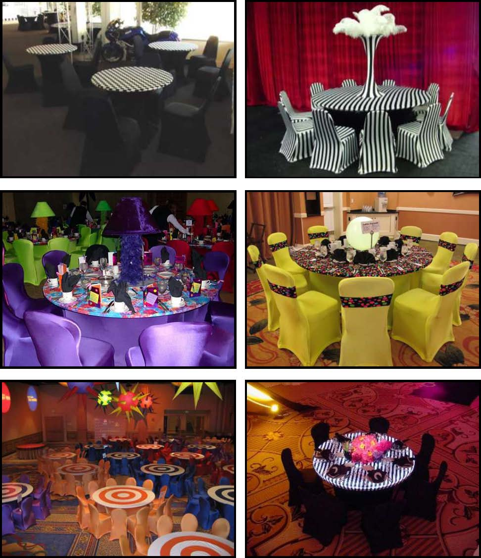 Spandex Products For Absolutely Fabulous Events And